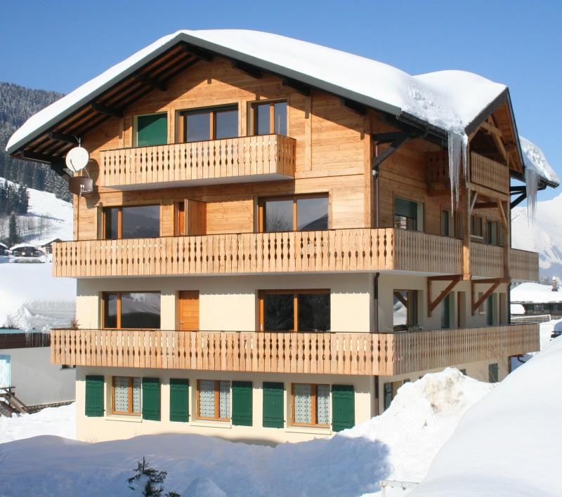 Armaillis-2-exterieur-hiver-location-appartement-chalet-Les-Gets