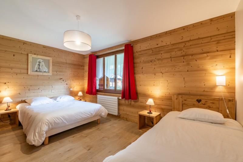 Aulnaie-2-chambre-lits-doubles-location-appartement-chalet-Les-Gets