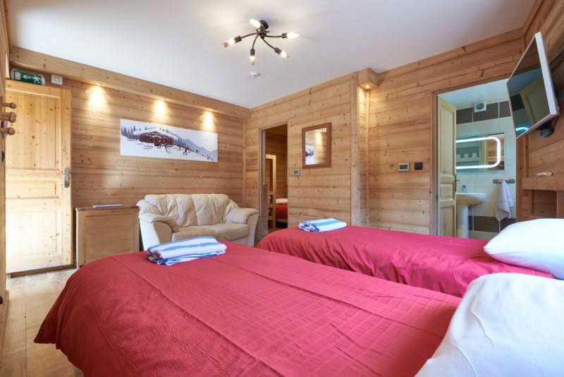 Chalet-Adventure-chambre-lits-simples-5-location-appartement-chalet-Les-Gets