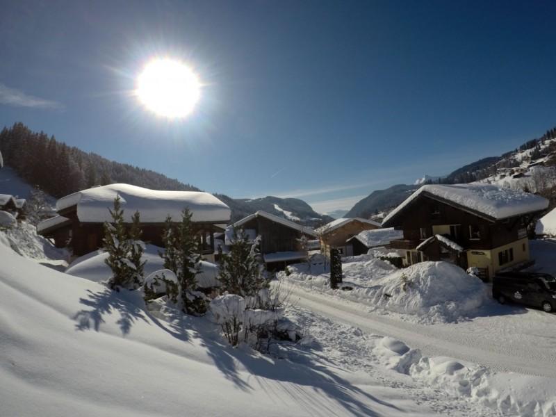 Chalet-Adventure-exterieur-hiver-location-appartement-chalet-Les-Gets