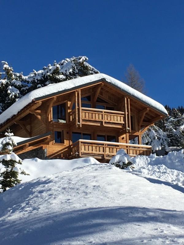 Chalet-Aramis-exterieur-hiver-location-appartement-chalet-Les-Gets