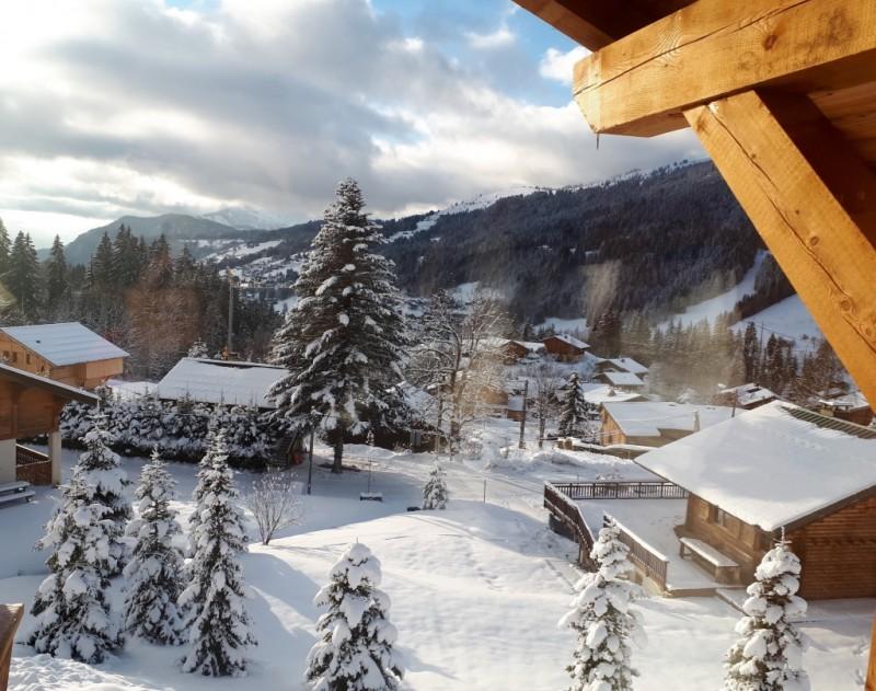 Chalet-Aramis-vue-hiver-location-appartement-chalet-Les-Gets