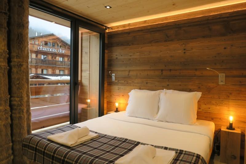 Chalet-du-Coin-chambre-lit-double-location-appartement-chalet-Les-Gets