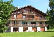 Eau-Vive-4-exterieur-ete-location-appartement-chalet-Les-Gets