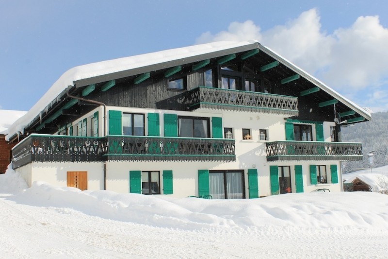 Fleur-des-Alpes-6-Gentiane-exterieur-hiver3-location-appartement-chalet-Les-Gets