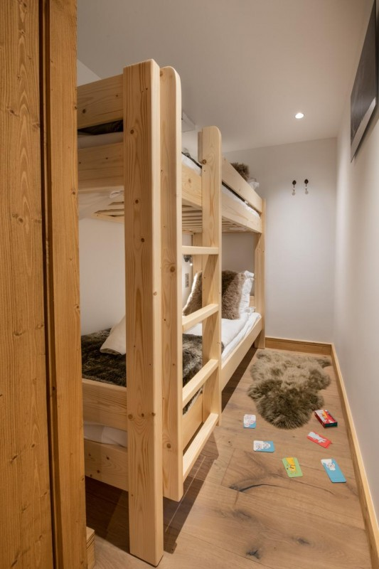 Kinabalu-14-chambre-enfant-lits-superposes-location-appartement-chalet-Les-Gets