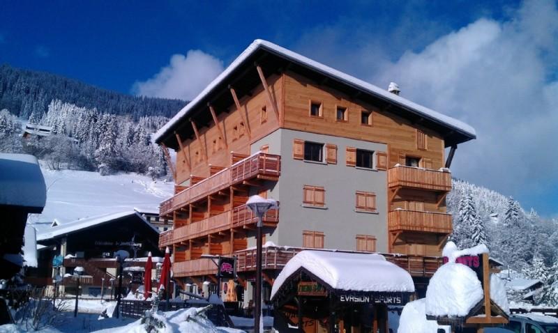 Marcelly-7-exterieur-hiver-location-appartement-chalet-Les-Gets