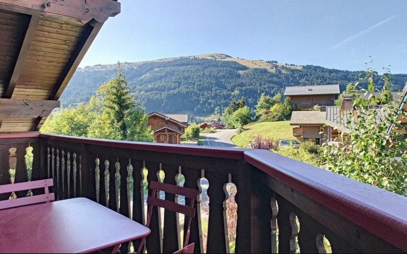 Renard-du-Lac-vue-balcon-location-appartement-chalet-Les-Gets