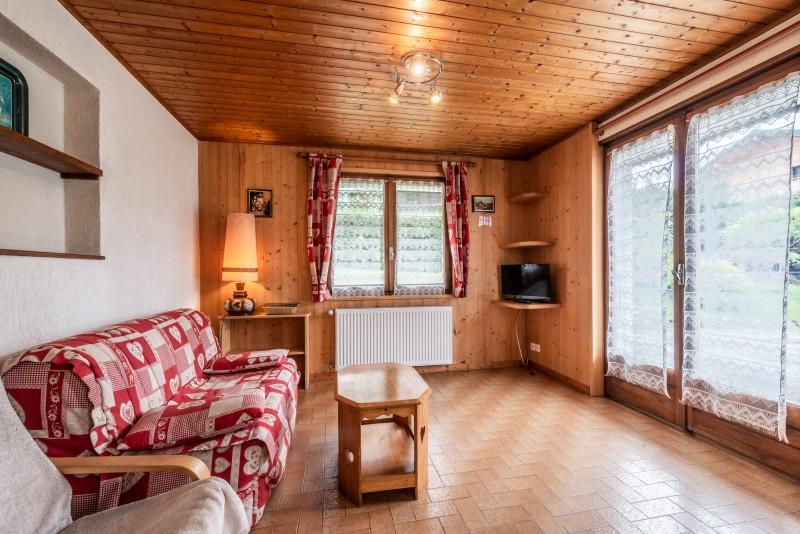 Roitelet-Les-Plagnes-sejour-salon-canape-baie-vitree-location-appartement-chalet-Les-Gets