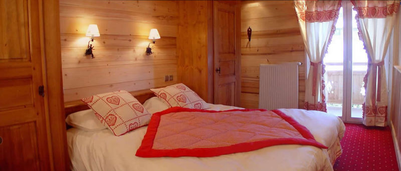 Sabaudia-5-pieces-8/10-personnes-chambre-double-location-appartement-chalet-Les-Gets