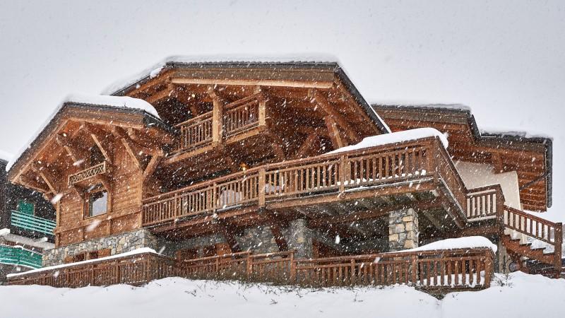 Vinson-chalet-exterieur-neige-location-appartement-chalet-Les-Gets